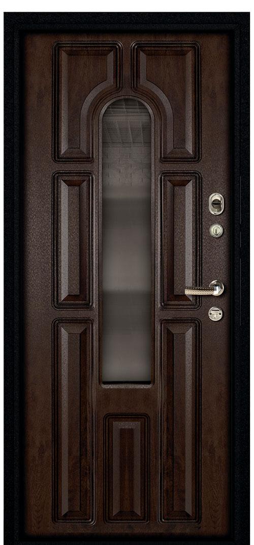 входная стальная дверь внутренний проем 85 см