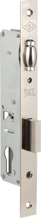 Корпус замка врезного цилиндрового узкопроф.155 (25 mm) w/b (никель)
