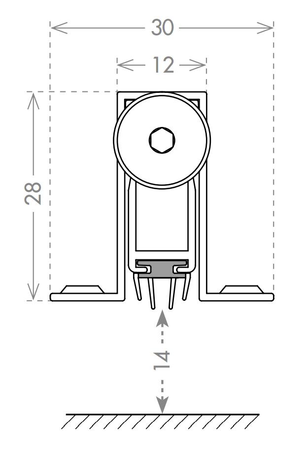 Автоматический порог EASY CON ALIETTE ASAL A /830