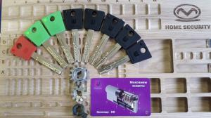 Цилиндр Шерлок с перекодировкой, 7 ключей