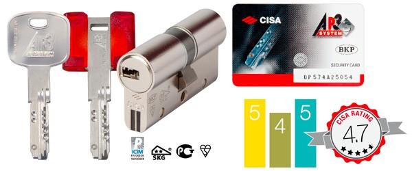 Цилиндровые механизмы Cisa