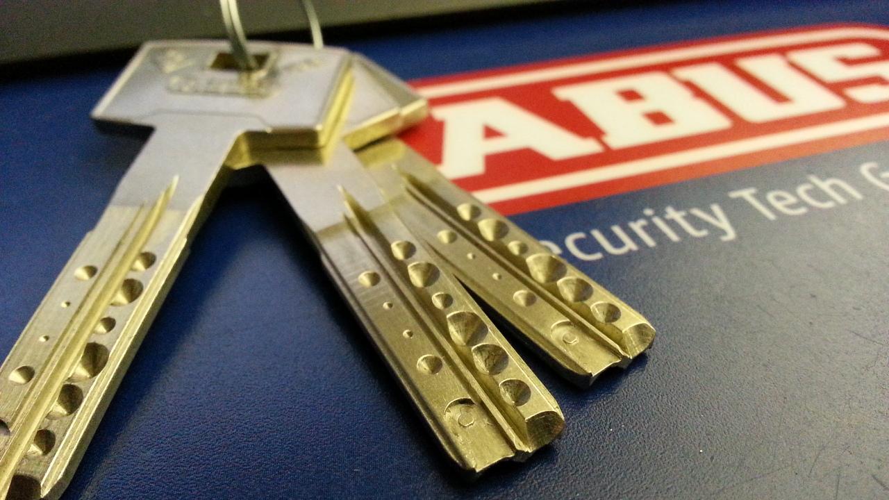 Модульный цилиндровый механизм ABUS Vela.2000 MX ключ/ключ