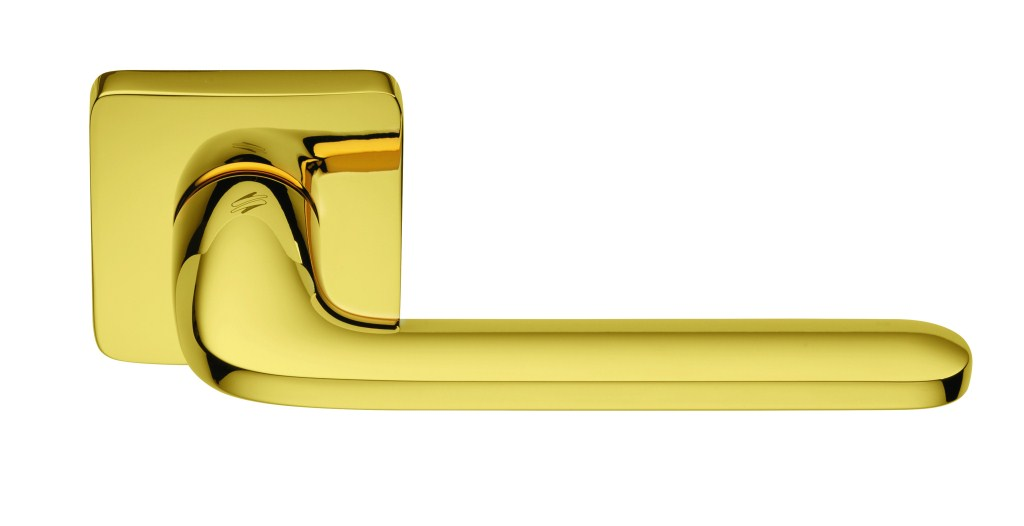 """Дверные ручки Colombo Design """"Roboquattro S"""" полированная латунь"""
