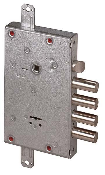 Замок врезной сувальдный 57.515.48 (тех. упаковка), ключ 58 мм