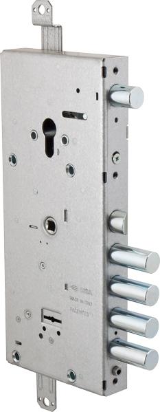 Замок врезной двух системный NEW CAMBIO BASIC 57.966.48 тех упаковка, ключ 64 мм