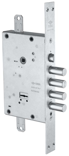 Замок врезной сувальдный NEW CAMBIO BASIC 57.685.48 (тех. упаковка), ключ 44 мм
