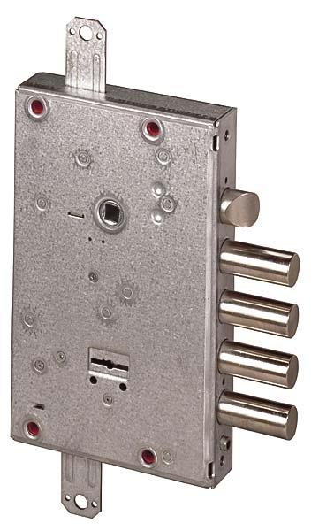 Замок врезной сувальдный NEW CAMBIO FACILE 57.665.48 (тех. упаковка), ключ 44 мм