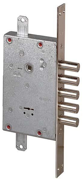 Замок врезной сувальдный NEW CAMBIO FACILE 57.675.48 (тех. упаковка), ключ 44 мм
