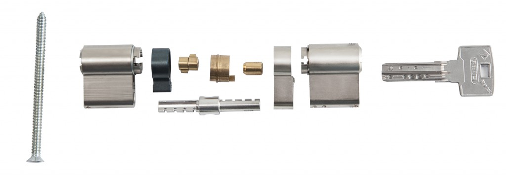 Цилиндровый механизм Abus Bravus 1000 MX ключ/вертушка
