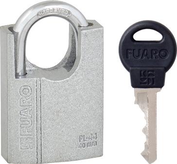 Навесной замок Fuaro PL-4440