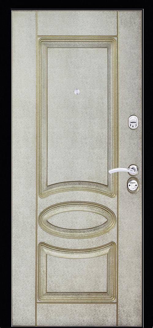 Металлическая дверь Металюкс М71/1