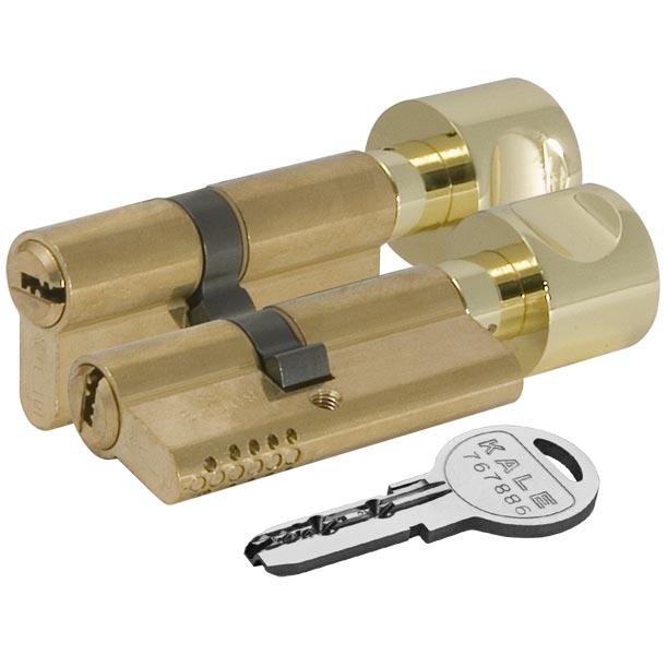 Цилиндровый механизм с вертушкой 164 OBS SCE/68 (26+10+32) mm латунь 5 кл.