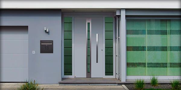 Алюминиевые двери Hormann Top Secur 80 мм