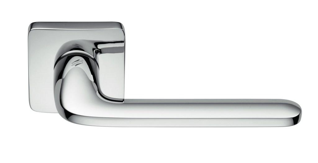 """Дверные ручки Colombo Design """"Roboquattro S"""" хром матовый"""
