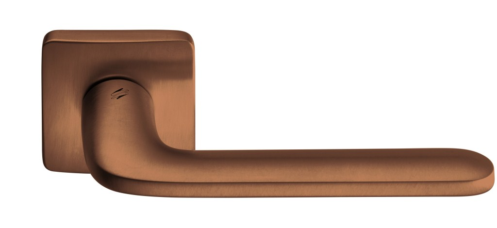 """Дверные ручки Colombo Design """"Roboquattro S"""" черный мат"""