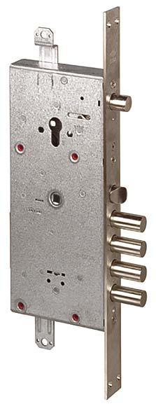 Замок врезной двухсистемный NEW CAMBIO FACILE 57.986.48 (тех. упаковка), ключ 44 мм