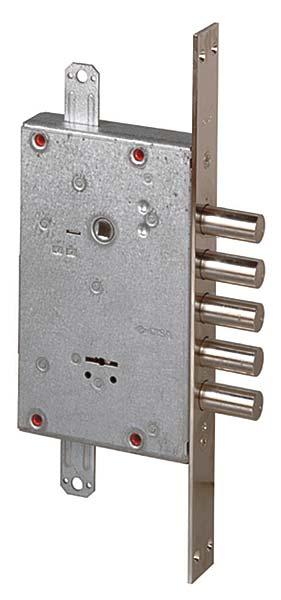 Замок врезной сувальдный NEW CAMBIO FACILE 57.655.48 (тех. упаковка), ключ 64 мм